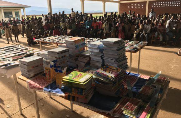 Don de kits d'éducation – Gatumba – Avril 2018