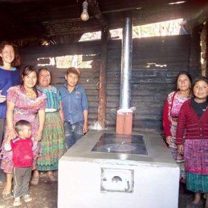 Construction d'un four traditionnel – Quetzaltenango – Novembre 2018