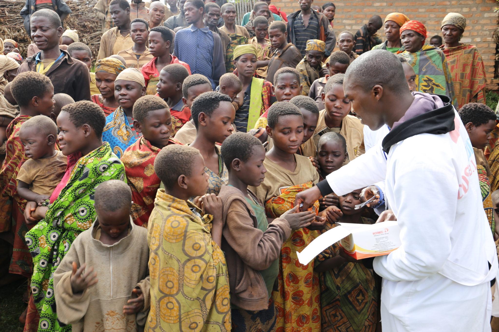 Don de kit santé – Ntarambo – Avril 2018