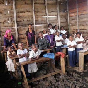 Réhabilitation école secondaire de Kiribizi – Goma – Mars 2018