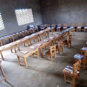 Don de kits d'éducation – Klouekanme – Octobre 2018