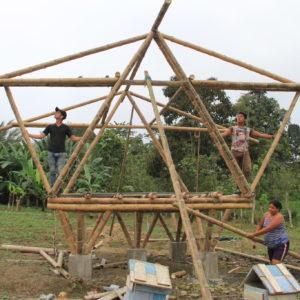Aide à la construction d'une école à Los Laureles – 2018